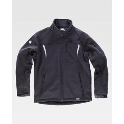 CHAQUETA WORKSHELL S9490 NEGRA