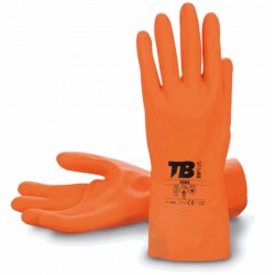 GUANTE LATEX 9005 NARANJA...