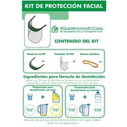 KIT DE PROTECCIÓN FACIAL No...